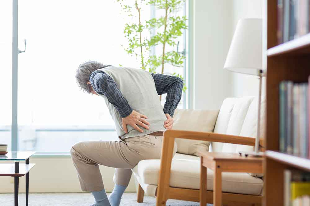 Man With Hip Pain